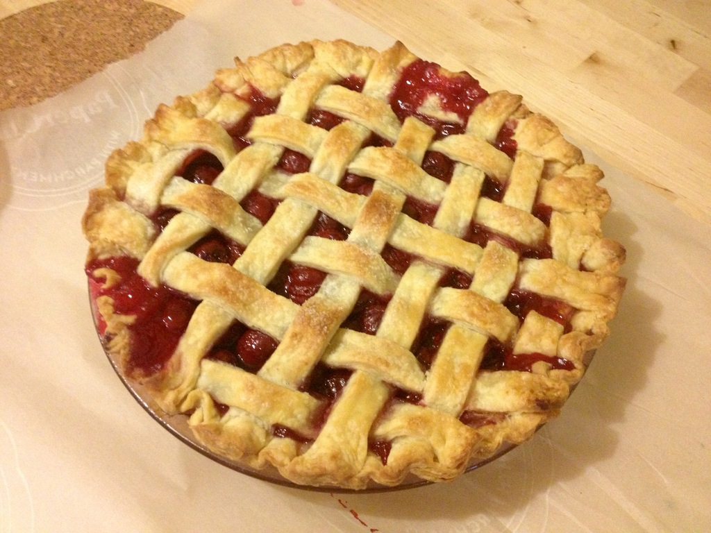 Sour Cherry Pie and a Canadian Recipe - The Sweetest Crumb